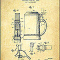 Beer Stein Patent From 1914 -vintage by Aged Pixel