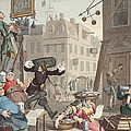 Beer Street, Illustration From Hogarth by William Hogarth