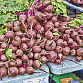 Beets At The Farmers Market by Cathy Anderson