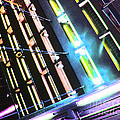 Hot Neon Nights by Ron  Tackett