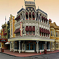 Before The Gates Open Magic Kingdom Main Street. by Thomas Woolworth