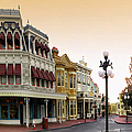 Before The Gates Open Main Street Magic Kingdom by Thomas Woolworth