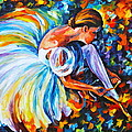 Before The Show 2  by Leonid Afremov