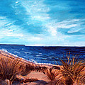 Before The Tumble At Chapin Beach by Viola Holmgren