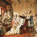 Before The Wedding, 1890 Oil On Canvas by Konstantin Egorovich Makovsky