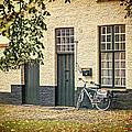 Begijnhof Bicycle by Joan Carroll
