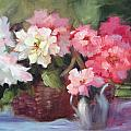 Begonias by Karin  Leonard