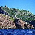 Behind Fort Amherst Rock By Barbara Griffin by Barbara Griffin