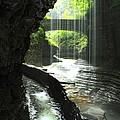 Behind Rainbow Falls by Nunweiler Photography