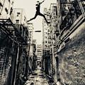 Behind Street by Junites Uno