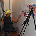 Behind The Scenes Mural 5 by Becky Kim