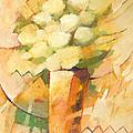 Beige Flowers by Lutz Baar