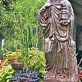 Beiger Mansion Statue by Rory Cubel