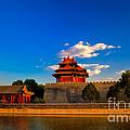 Beijing Forbidden City by Fototrav Print