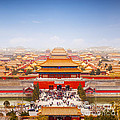 Beijing Forbidden City Skyline by Colin and Linda McKie