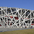 Beijing National Stadium - Site Of 2008 Olympic Games by Brendan Reals