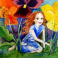 Tiny Flower Fairy by Michal Madison