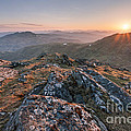 Sunset From Beinn Ghlas - Scotland by Rod McLean