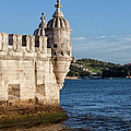 Belem Tower Fortification On The Tagus River by Artur Bogacki
