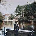 Belgium Reflections In Water by Jennifer Lycke