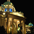 Belgrade Parliament  by Julia Fine Art And Photography