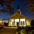 Belin Memorial Umc After Dark by Bill Barber
