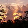 Belizean Sunset by Susanne McMillan