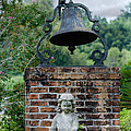Bell Brick And Statue by Jim Shackett