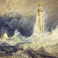 Bell Rock Lighthouse by JMW Turner