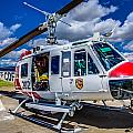 Bell Uh-1super Huey Close-up by Scott McGuire