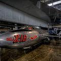 Bell X-1b Rocket Plane by David Dufresne