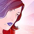 Bella Donna I by Sandra Hoefer