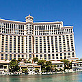 Bellagio Resort And Casino Panoramic by Edward Fielding