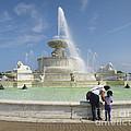 Belle Isle Fountain Splash by Ann Horn