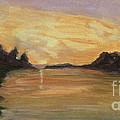 Belle River II by Carol Oufnac Mahan