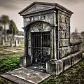 Bellevue Cemetery Crypt - 03 by Gregory Dyer