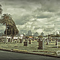 Bellevue Cemetery Crypt - 02 by Gregory Dyer