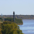 Bellevue Rear Range Lighthouse  by Lori Amway