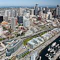 Belltown In Downtown Seattle by Bill Cobb