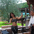 Belly Dancer And Performer At Morocco Pavilion by Lingfai Leung
