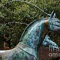 Belmond Charleston Place Horse Fountain by Dale Powell