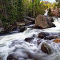 Below Alberta Falls by Ronda Kimbrow