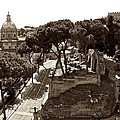 Below The Capitoline Hill by Eric Tressler