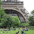 Below The Eiffel Tower by Pema Hou
