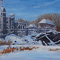 Belvedere Castle Central Park Nyc by Chris Weir