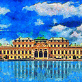 Belvedere Palace by George Rossidis