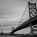 Ben Franklin Bridge by Brandon Hirt