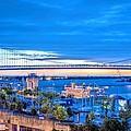 Ben Franklin Bridge by JC Findley