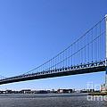 Ben Franklin Bridge by Olivier Le Queinec