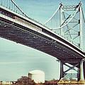 Ben Franklin Bridge by Scott Wyatt